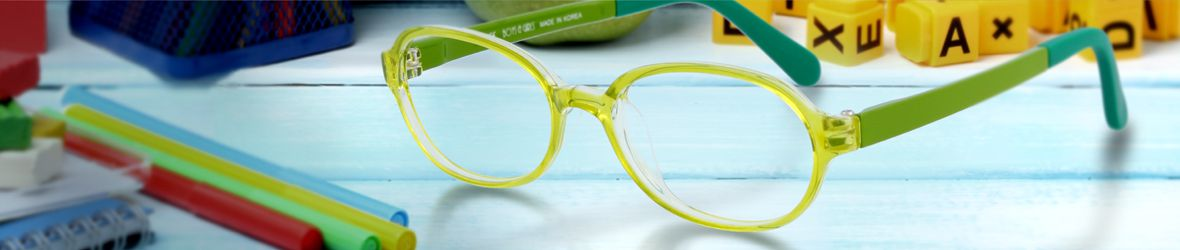 Glassesgallery - Kids glasses banner