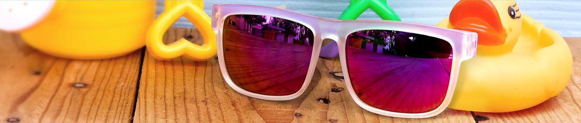 Glassesgallery - Kids' sunglasses banner