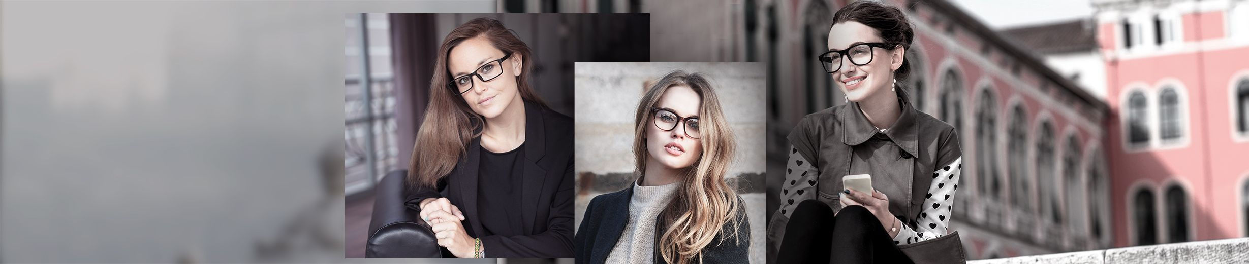 Glassesgallery - Woman glasses banner