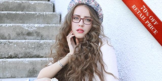 7bdd54d1de Girl wearing Vogue Glasses