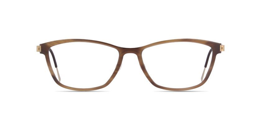 f4863bf6c9f LINDBERG buffalo titanium 1822 Matt brown prescription Eyeglasses