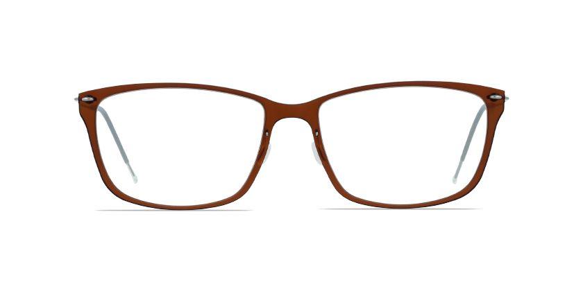 30922454df Lindberg n.o.w. titanium 6504 Brown prescription Eyeglasses