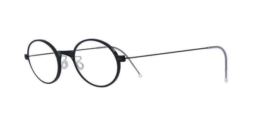 2382a12b9d2 Lindberg n.o.w. titanium 6508 Black prescription Eyeglasses
