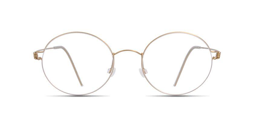 fc0f69555e8 Lindberg RIM DAKOTA Matt gold prescription Eyeglasses