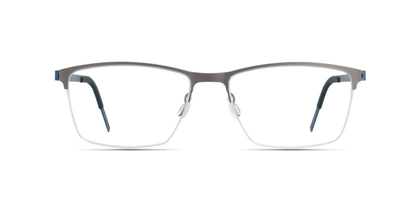 51cc0816a LINDBERG strip titanium 7405-10U1354 Grey prescription Eyeglasses