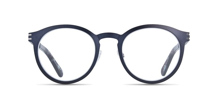 e529e2953ea5 Marc Jacobs MJ617 full rim round / pantos plastic black eyeglasses ...