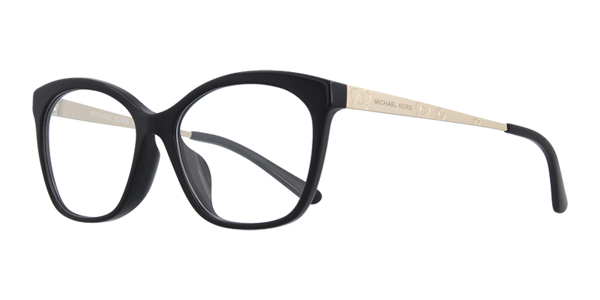 78a79e28f0f8 Michael Kors MK4057F-3005 Black prescription Eyeglasses