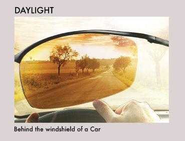 Glassesgallery lens info - Drivewear daylight