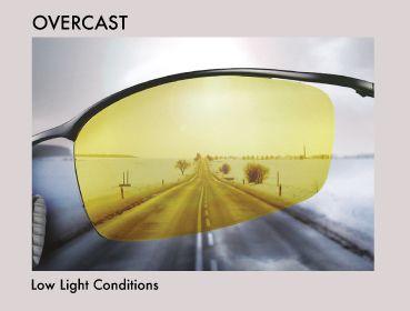 Glassesgallery lens info - Drivewear overcast